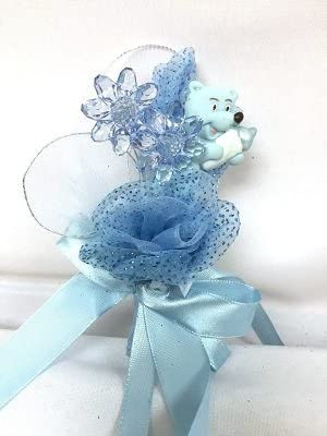 Baby Shower Bear Corsage Keepsake for Mother to Be