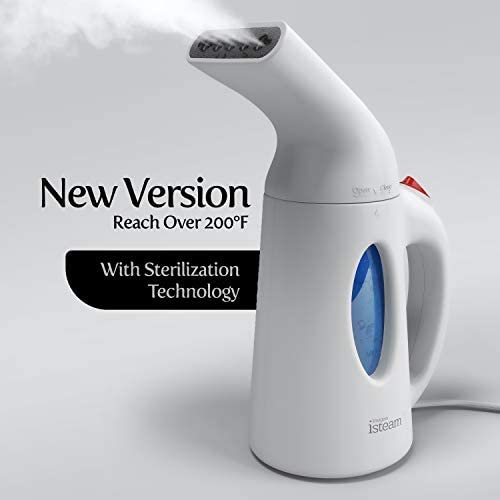 Steamer for Clothes [Update Version] 7-in-1 Powerful Multi-Use: Wrinkle Remover-Clean-Sterilize-Sanitize-Refresh-Treat-Defrost- Garment/Home/Kitchen/Bathroom/Car/Face/Travel