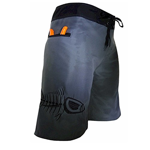 Tormenter Mens Tuna Board Boardshorts 36 Gray