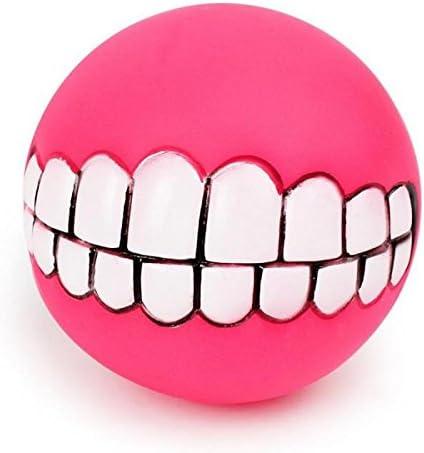 SODIAL Juguete de pelota chirriante para perro Juguete para ...