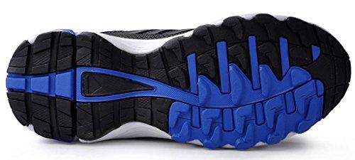iLoveSIA Delocrd Zapatillas de running multiuso Azul + Negro