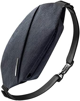 NIID-R0 Radiant Chest Bag Multipurpose Slim Bag Waterproof Sling Shoulder Crossbody Bag for Travel