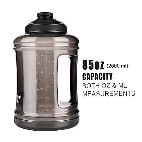 Bottled Joy 2 5l Large Capacity Water Bottle With Handle