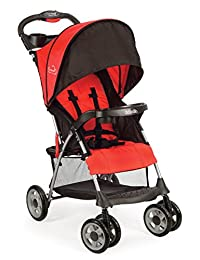 Kolcraft Cloud Plus Lightweight Stroller with 5-Point Safety System and Multi-Positon Reclining Seat , Fire Red BOBEBE Online Baby Store From New York to Miami and Los Angeles