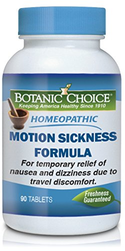 Belladonna Tabs 100 (Botanic Choice Homeopathic Motion Sickness Nutritional Supplement, 90 Tablets)