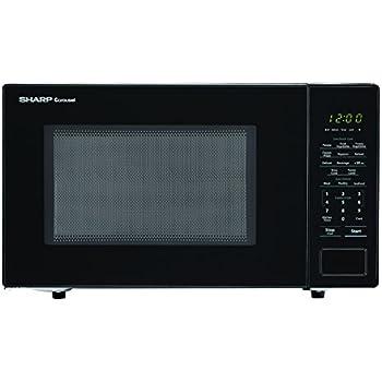 amazon com sharp microwaves zsmc1131cb sharp 1 000w countertop rh amazon com Sharp Microwave Parts Manual Sharp Microwave Timer