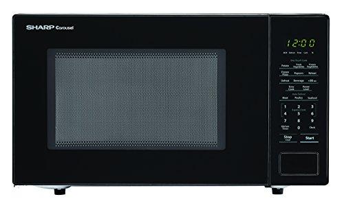 SHARP ZSMC1132CS Carousel 1.1 Cu. Ft. 1000W Countertop Microwave Oven with Orville Redenbacher's...