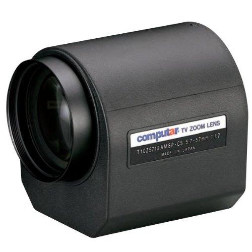 Computar T10Z5712DC 1/3-in 10X Motorized Zoom Lens (CS-Mnt)