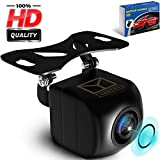Backup Camera Night Vision - HD Car Rear View Camera - Parking GuideLines ON/Off - Wide View Angel - Waterproof Reverse Auto Back Up Car Backing Camera - High Definition - Fits All Vehicles by Yanees