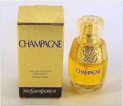 (Champagne by YSL .26 oz Eau De Toilette Spray 7.5ml For Ladies)