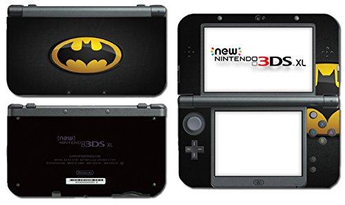 Batman Original Logo Signal Begins Dark Knight Rises Video Game Vinyl Decal Skin Sticker Cover for the New Nintendo 3DS XL LL 2015 System Console (Rise Batman)