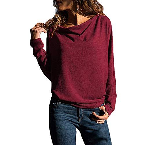 Keerads sweatshirt voor dames, casual, lange mouwen, mouwloos, sweatshirt zonder capuchon