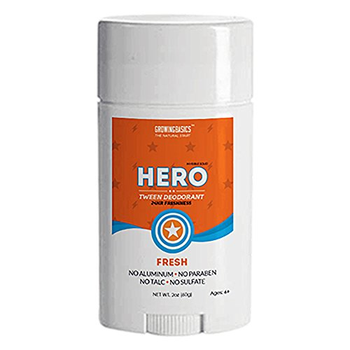 Kids Deodorant for Boys (Hero) Twin Pack