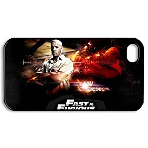 CTSLR iphone 4 4S Case - Hard Plastic Back Case for iphone 4 4S 4G-1 Pack - Movie Fast & Furious 6 (17.30) - 03