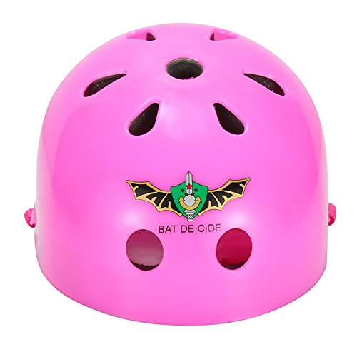 ASIBT Kid's Skateboard Helmet Sets Cycling Roller Skating Helmet Elbow Knee Pads Wrist Sport Safety Protective Guard Gear Set for Children of age 3-8 years old (Pink) by ASIBT (Image #6)