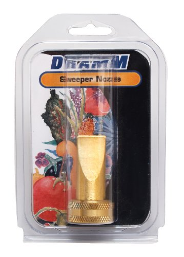 Dramm 22311 Heavy-Duty Brass Sweeper Nozzle (Dramm Nozzle Fan)