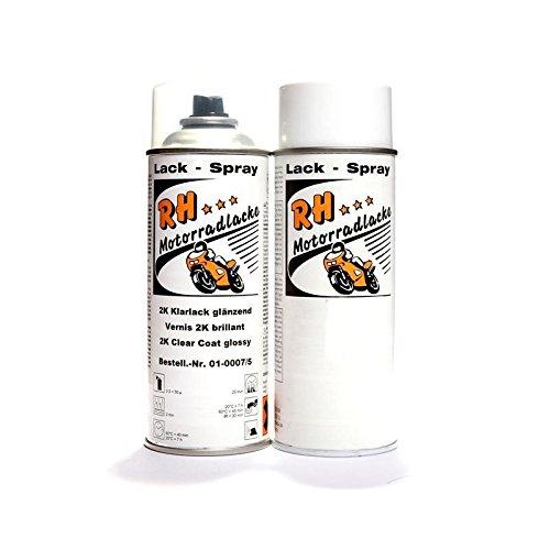 RH Frecce vernici Spray 400ML Kawasaki 33P Metallic FLAT Platinum Gray 02–2992/.