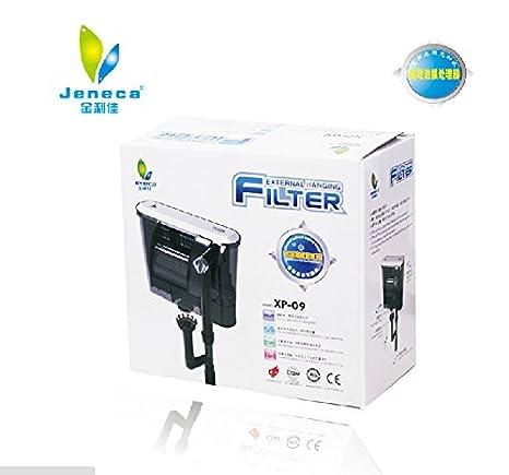 Faunagarden Filtro de mochila Xp-09 200 litros hora y 3,5W Jeneca: Amazon.es: Productos para mascotas