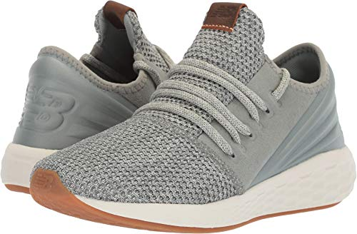 - New Balance Women's Cruz V2 Fresh Foam Running Shoe, Seed/Light Cliff Grey/sea Salt, 5 B US