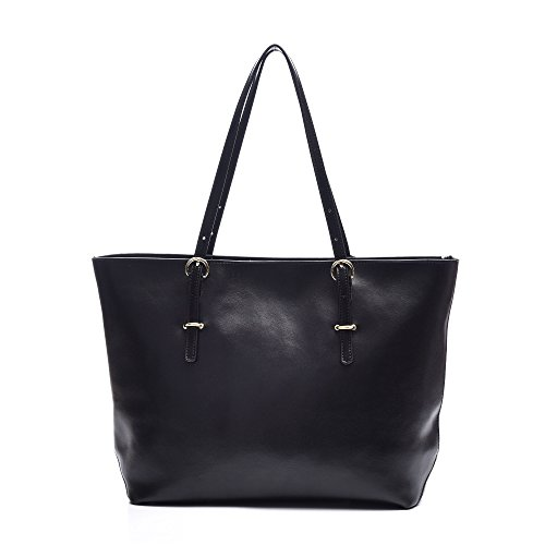 Leather Totes Shoulder Bags, Artmis Women Handbags for Laptop Up to 14.1 -inch