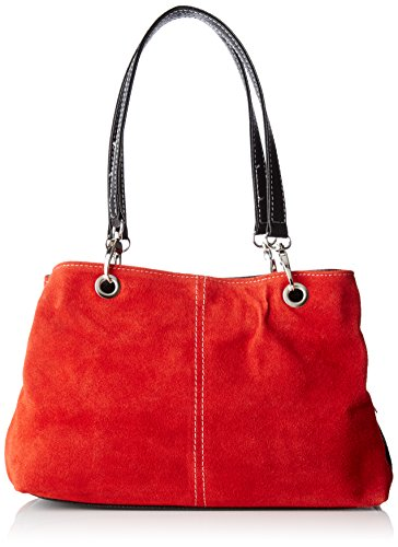 Chicca Bag Borse Chicca Borse Handle 10028 Women's Rosso Red Top r0rpwfq