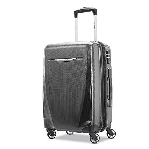 Samsonite Winfield 3 DLX Hardside Luggage, Graphite Grey, Carry-On