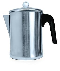 Primula TPA-3609 9 Cup Coffee Percolator, Aluminum
