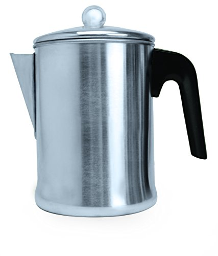 Primula Today 9 Cup Coffee Percolator (Metal Coffee Pot)