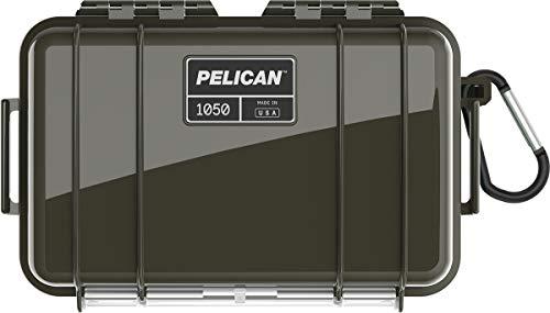 Pelican OD Green 1050 case with Liner & Carabiner