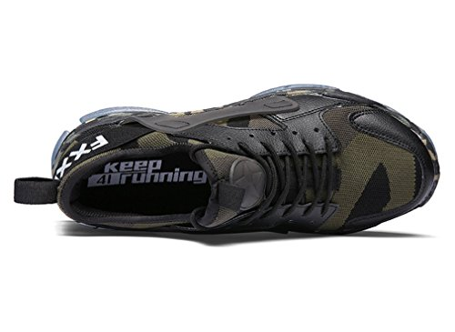 Corsa Uomo all'Aperto da Scarpe Casual Scarpe Scarpe Sportive Traspirante Mimetizzazione wF76UxxIqZ
