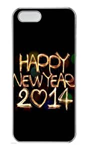2114 Happy New Year Light Painting Bokeh Polycarbonate Plastic Hard Case For Sam Sung Note 2 Cover and Case For Sam Sung Note 2 Cover Transparent