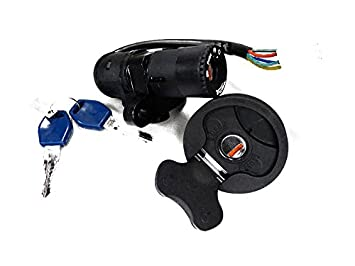 Supermoto KTM 640 LC4 Fuel Filler Cap With Ignition Switch And