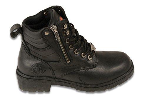 Stiefeletten amp; 9 schwarz Stiefel blk Damen US Mbl9320 schwarz Milwaukee M wxYUHqTan