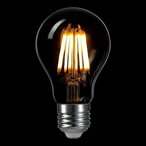 A19 Led Filament Bulb Nostalgic Edison Style 4w To Replace: LIGHTSTORY LED Edison Bulb A19, E26 Base 2700K Non