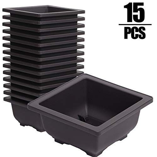 small plastic plant containers - 4