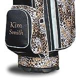 Taboo Fashions Personalized Custom Allure Designer Ladies Golf Cart Bag
