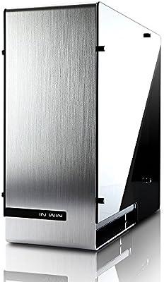 In Win 909 Carcasa de Ordenador Full-Tower Plata - Caja de Ordenador (Full-Tower, PC, Aluminio, Vidrio Templado, ATX,EATX,Micro-ATX,Mini-ITX, Plata, 17,5 cm): Amazon.es: Informática