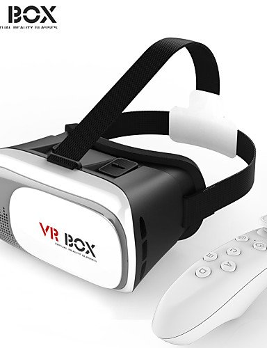 House VR BOX Enhanced Cardboard Version VR Virtual Reality Glasses + Smart Bluetooth Wireless Mouse