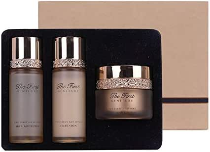 OHUI The First Geniture Special Travel Set, Containing Softener Emulsion And Cream, Anti-aging, Anti-Wrinkle Nourishing And Moisturizing Skin.