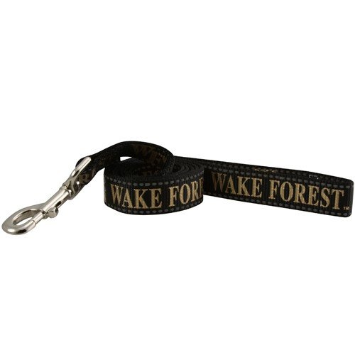 Pet Goods Manufacturing NCAA Wake Forest Demon Deacons Dog Lead, Large