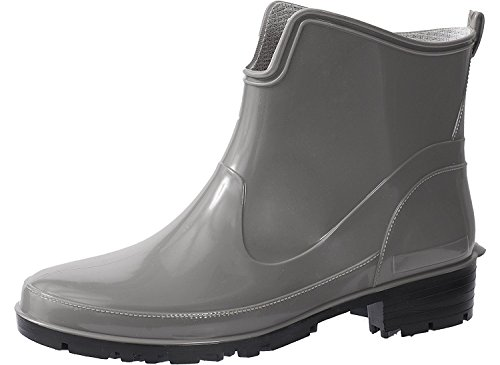 Rubber Womens Ankle 930 Boots Grey Wellington Elke Lemigo qESxnw7Uqp