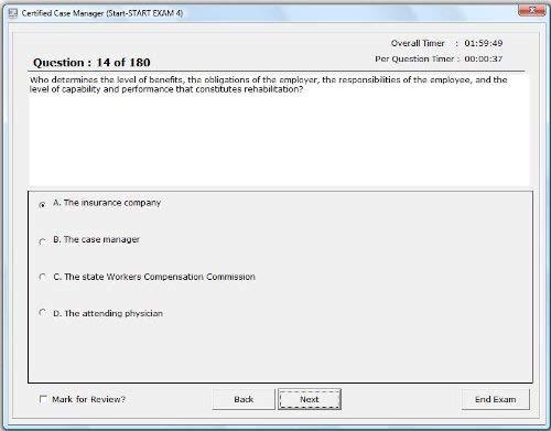 (Case Manager Exam Simulation Software; 2,700 Sample Questions Case Manager's Certification; Certified Case Manager (CCM) exam; CMSA)