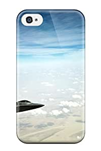 2100215K60089777 Iphone 4/4s Case Cover F 22 Raptor Stealth Fighters Case - Eco-friendly Packaging