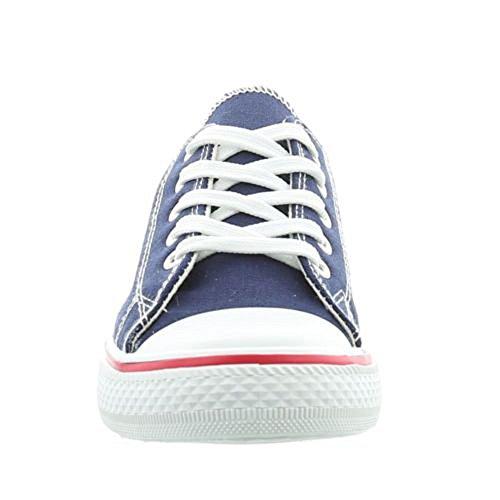 Women's Low Sneakers Boshimao Blue Top zaFfnqdw