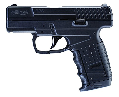 Umarex Walther PPS C02 .177 Fixed Sights Air Gun Pistol, Black