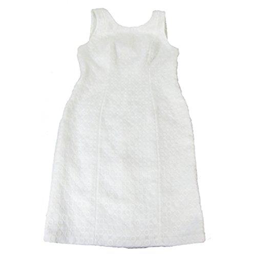 Nine West Womens Jacquard Sheath Dress