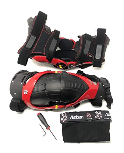 Asterisk Ultra Cell 2.0 Knee Protection System - Pair (MEDIUM) (RED) ()