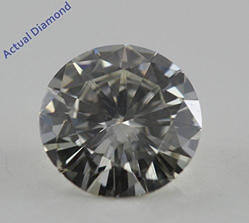 Diamant Rond taillés (1 Ct, H Couleur,VVS2 Clarté) IGL Certifié
