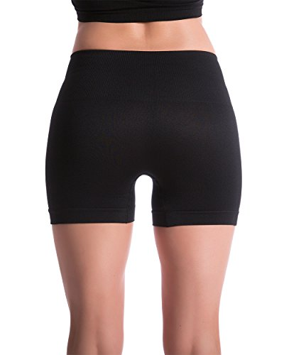 Homma-Womens-Seamless-Compression-Heathered-Yoga-Shorts-Running-Shorts-Slim-Fit-