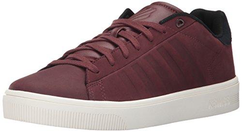 K-Swiss Court Frasco, Herren Sneakers, rot - Rum Raisin/Marshmallow/Rum Raisin - Größe: 44.5